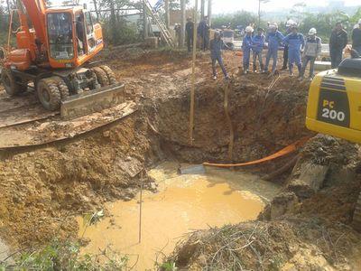 Dự án nước Sông Đà 2: Dừng hợp đồng với nhà thầu Trung Quốc - ảnh 1