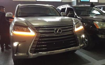 """Lexus LX570 2016:  """"Cỗ xe tăng di động"""" đã về Việt Nam - ảnh 1"""