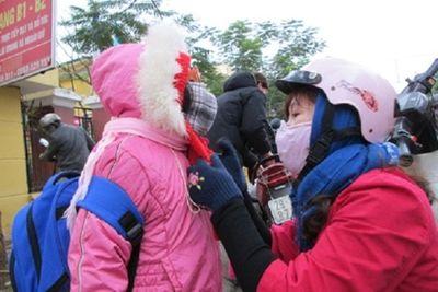 Rét đậm ở miền Bắc, học sinh tiếp tục được nghỉ sau Tết Dương lịch - ảnh 1
