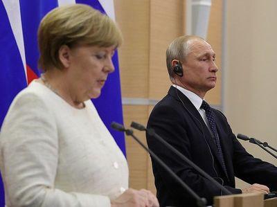 Tổng thống Putin điện đàm với Thủ Tướng Merkel về tình hình Syria - ảnh 1