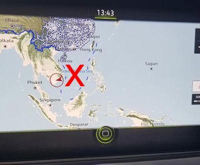 Xe Volkswagen có bản đồ