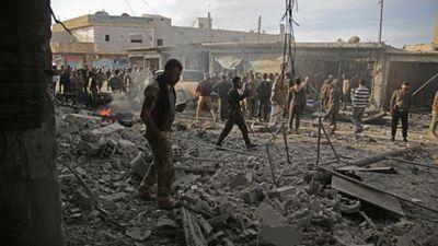 Đánh bom tại biên giới Syria - Thổ Nhĩ Kỳ 13 người chết - ảnh 1