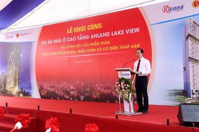 Tập đoàn Nam Cường khởi công tòa nhà Anland Lakeview tại khu đô thị Dương Nội, Hà Đông - ảnh 1