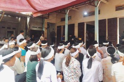Cháy nhà xưởng 8 người chết ở Trung Văn: Nước mắt tang thương bao trùm xóm nhỏ - ảnh 1