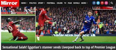 """Salah """"hạ sát"""" Chelsea, Liverpool giật ngôi đầu bảng từ Man City - ảnh 1"""