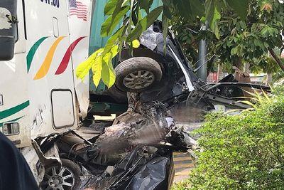 Vụ tai nạn khiến 5 người chết ở Tây Ninh: Đại tang cho cả gia đình 4 người - ảnh 1