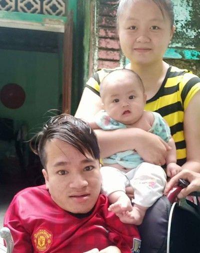 Chàng trai tí hon đầy nghị lực xây dựng gia đình nhỏ hạnh phúc to - ảnh 1