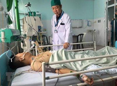 Đồng Nai: Cứu sống nạn nhân tai nạn giao thông bị đa chấn thương - ảnh 1