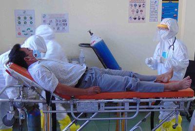 TP.HCM: Bệnh viện dã chiến Củ Chi đã cách ly 16 người vì Covid-19 - ảnh 1