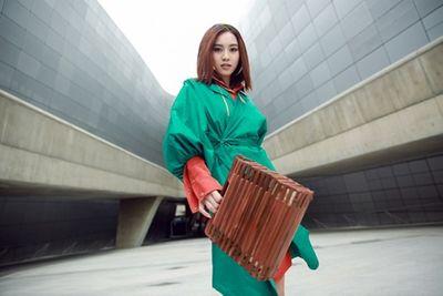 """Ninh Dương Lan Ngọc """"chơi màu"""" ấn tượng tại Seoul Fashion Week - ảnh 1"""