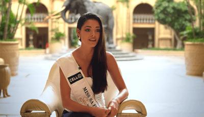 Nhan sắc đời thường xinh tươi rạng rỡ của tân Hoa hậu Hoàn vũ  - ảnh 1