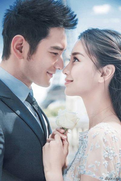 """Rộ tin cặp đôi """"ngôn tình"""" Huỳnh Hiểu Minh - Angelababy đã ly hôn - ảnh 1"""