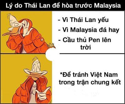 Phì cười với loạt ảnh chế Thái Lan thành cựu vương AFF Cup - ảnh 1