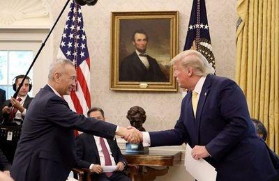 Tổng thống Trump lạc quan về đàm phán thương mại Mỹ - Trung - ảnh 1