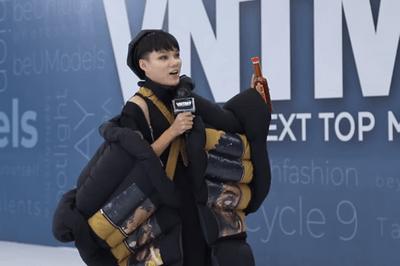 """Video: Mâu Thủy được thí sinh Next Top tặng nước mắm """"cho đời bớt nhạt"""" - ảnh 1"""