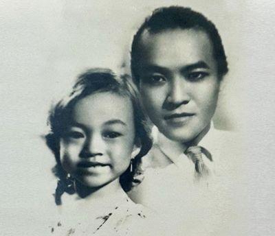 Danh ca Hương Lan chia sẻ ảnh hiếm thuở nhỏ chụp cùng cố nghệ sĩ Thanh Nga - ảnh 1