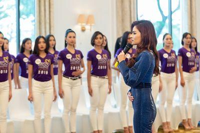 Vũ Thu Phương tức giận với thí sinh Hoa hậu Hoàn vũ Việt Nam: Chị không chấp nhận như vậy! - ảnh 1