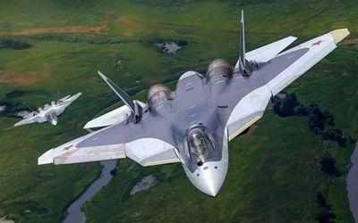Siêu chiến đấu cơ Su-57 thế hệ mới của Nga bị rơi - ảnh 1
