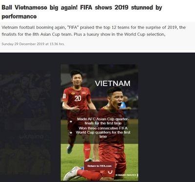 Báo Thái Lan so sánh đầy thất vọng khi ĐT Việt Nam được FIFA vinh danh - ảnh 1