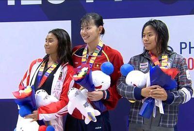 Ánh Viên giành HCV, Huy Hoàng phá kỷ lục SEA Games - ảnh 1