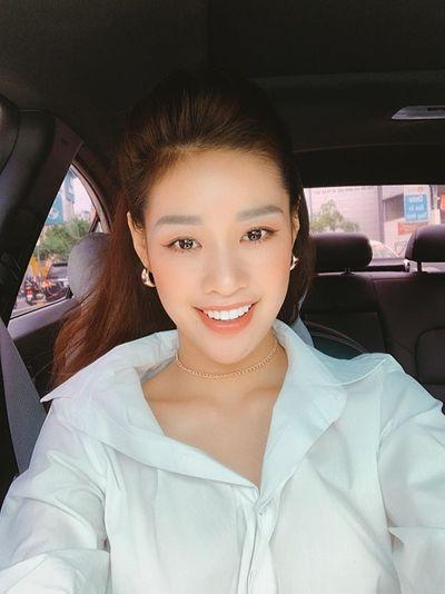 Ảnh đời thường từ dễ thương đến nóng bỏng hút mắt của tân Hoa hậu Hoàn vũ Khánh Vân - ảnh 1