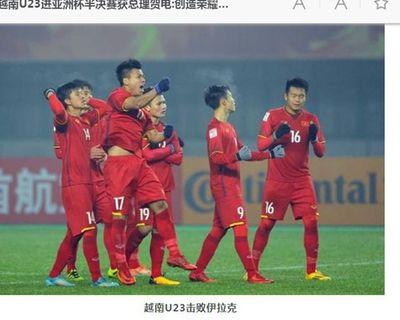 """Báo chí Trung Quốc lại lấy bóng đá Việt Nam """"làm gương"""" cho đội nhà - ảnh 1"""