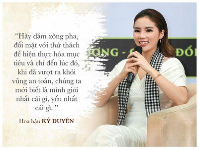 Dàn hoa hậu, á hậu Việt và những câu nói truyền cảm hứng - ảnh 1