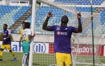 """Ngoại binh tỏa sáng, Hà Nội FC """"vùi dập"""" Yangon United 5-2 - ảnh 1"""