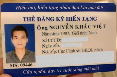Khắc Việt chia sẻ xúc động về chuyện hiến tạng sau khi qua đời - ảnh 1