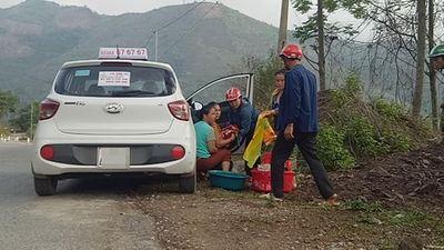"""Nghệ An: Tài xế taxi đỡ đẻ bất đắc dĩ giúp sản phụ """"mẹ tròn con vuông"""" - ảnh 1"""