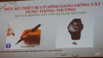 """Nhan nhản những lời """"mật ngọt"""" quảng cáo các thiết bị công nghệ để gian lận thi cử - ảnh 1"""