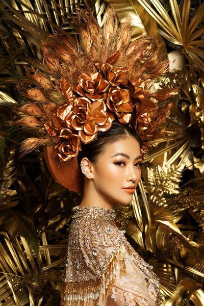 """Phương Khánh rạng rỡ diện lại bộ trang phục """"huyền thoại"""" ở Miss Earth - ảnh 1"""