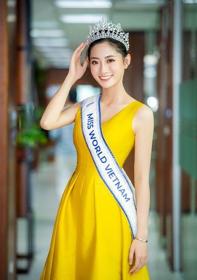 Miss World Viet Nam 2019 Lương Thùy Linh: Hào quang lấp lánh đến từ những điều giản dị, thân thiện và sự bản lĩnh - ảnh 1