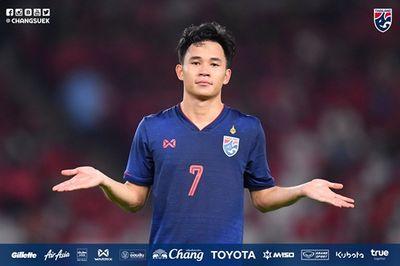 """HLV Akira Nishino tự tin vào bộ ba tấn công """"khủng"""" của U23 Thái Lan - ảnh 1"""