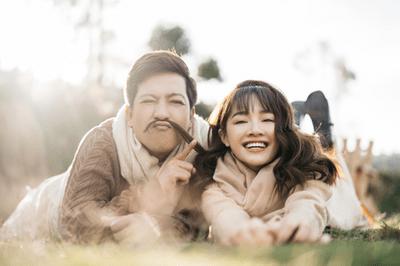 """Trường Giang - Nhã Phương tung bộ ảnh lãng mạn, ấm áp đúng chuẩn """"Valentine trong mơ"""" - ảnh 1"""