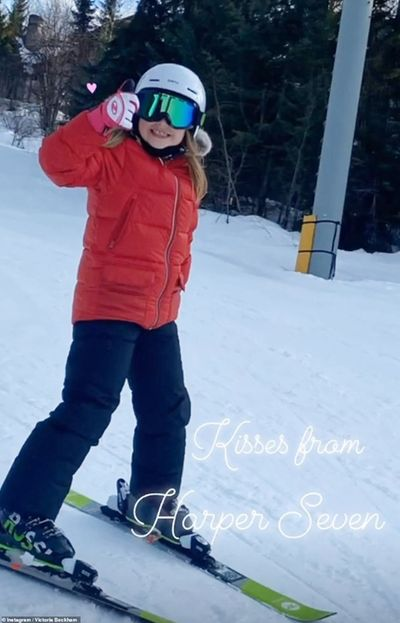 Hành động của Beckham chứng minh bé Harper đích thực là nàng công chúa của gia đình - ảnh 1