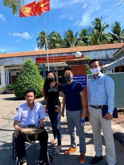 Vợ chồng Lý Hải - Minh Hà góp 350 triệu lắp máy lọc nước cho người dân miền Tây - ảnh 1