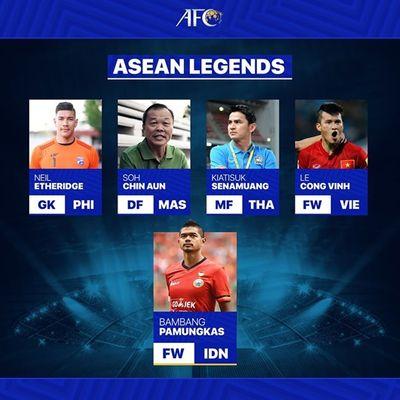 Tin tức thể thao mới nóng nhất ngày 24/3/2020: AFC chọn Công Vinh là 1 trong 5 huyền thoại bóng đá Đông Nam Á - ảnh 1