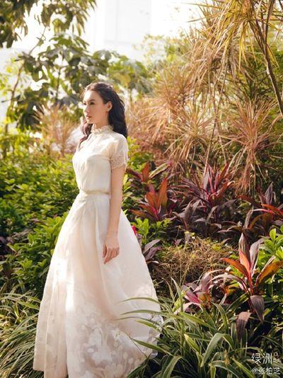 """Trương Bá Chi hóa nữ thần mùa xuân, rạng rỡ xứng danh """"quốc bảo nhan sắc"""" - ảnh 1"""