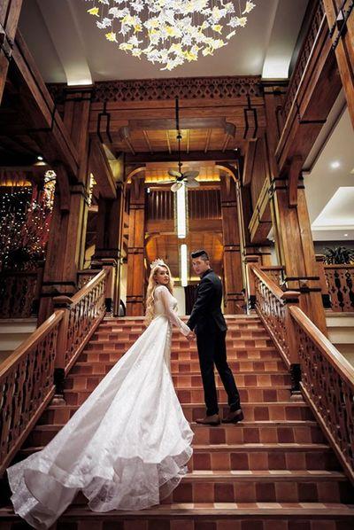 Lương Bằng Quang, Ngân 98 tung ảnh cưới dù ngày vui phải hoãn lại vì dịch Covid-19 - ảnh 1