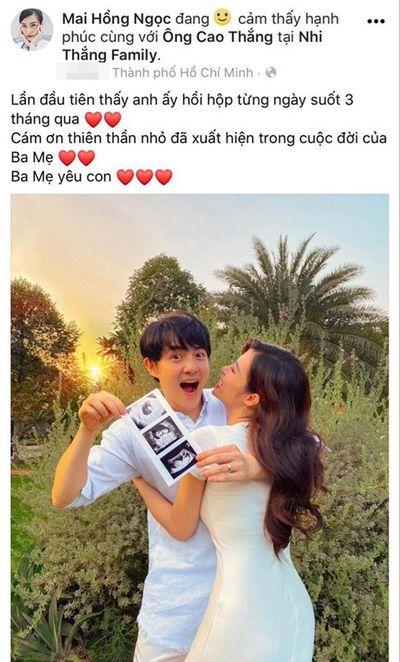Đông Nhi xác nhận mang thai con đầu lòng, tiết lộ cảm xúc Ông Cao Thắng - ảnh 1