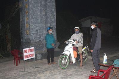 Hải Dương: Người dân đi qua chốt kiểm soát sau 22h phải xuất trình giấy tờ - ảnh 1