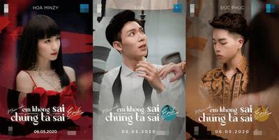 """Erik hé lộ teaser MV mới có Hòa Minzy - Đức Phúc: """"Drama gia đình hoa dâm bụt"""" hay """"tấu hài""""? - ảnh 1"""