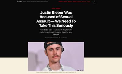 Justin Bieber phản hồi cáo buộc hiếp dâm 2 người phụ nữ thuở còn hẹn hò Selena - ảnh 1