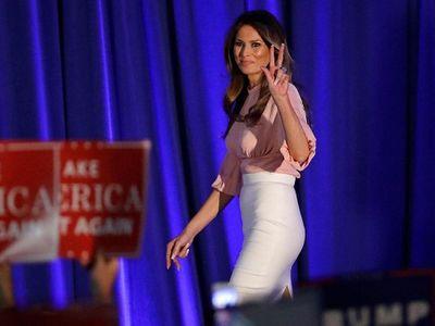 Vợ mới của Donald Trump đạo văn…vợ cũ - ảnh 1