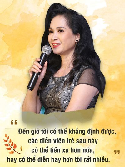"""Sau 3 năm làm """"mẹ chồng"""", NSND Lan Hương nói điều bất ngờ về Bảo Thanh - ảnh 1"""