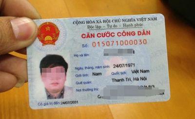 Bộ Công an hướng dẫn thủ tục cấp, đổi thẻ Căn cước công dân - ảnh 1