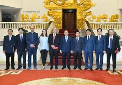 Thủ tướng tiếp lãnh đạo Tập đoàn đưa Giải đua F1 vào Việt Nam - ảnh 1