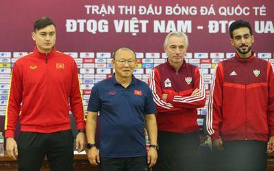 Tiết lộ về HLV Park Hang-seo trước trận Việt Nam- UAE - ảnh 1
