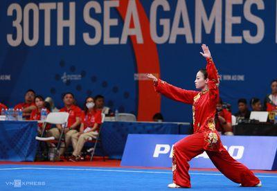 SEA Games 30: Tay đua Đinh Thị Như Quỳnh giành HCV đầu tiên cho Việt Nam - ảnh 1